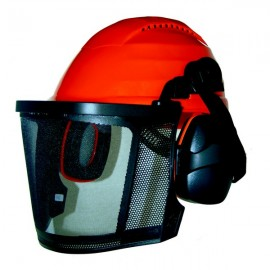 Casque forestier bandeau anti sudation