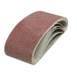 5 bandes abrasives 65 x 410 mm Silverline