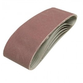 5 bandes abrasives 75 x 533 mm Silverline