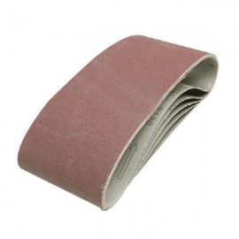 5 bandes abrasives 100 x 610 mm Silverline